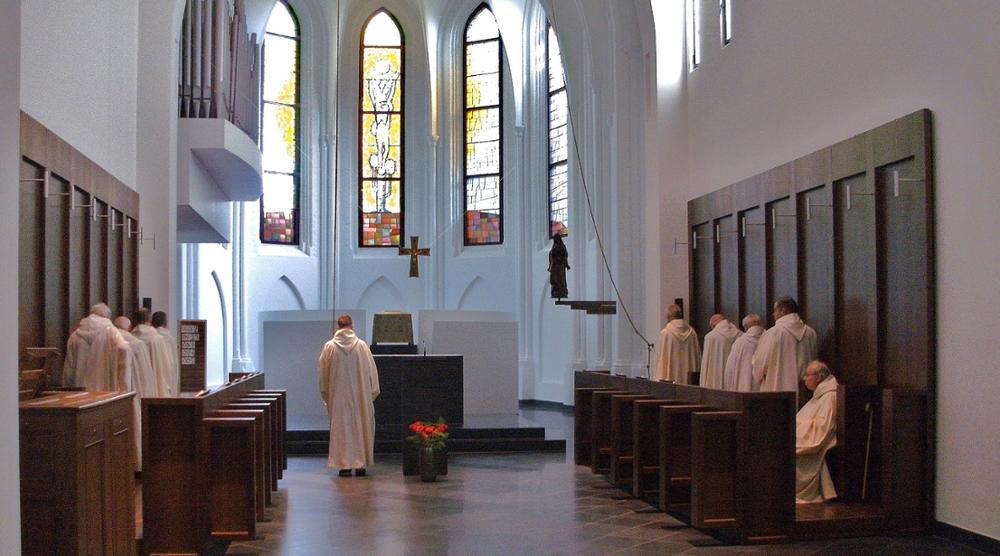 Het ritme van de cisterciënzer monniken