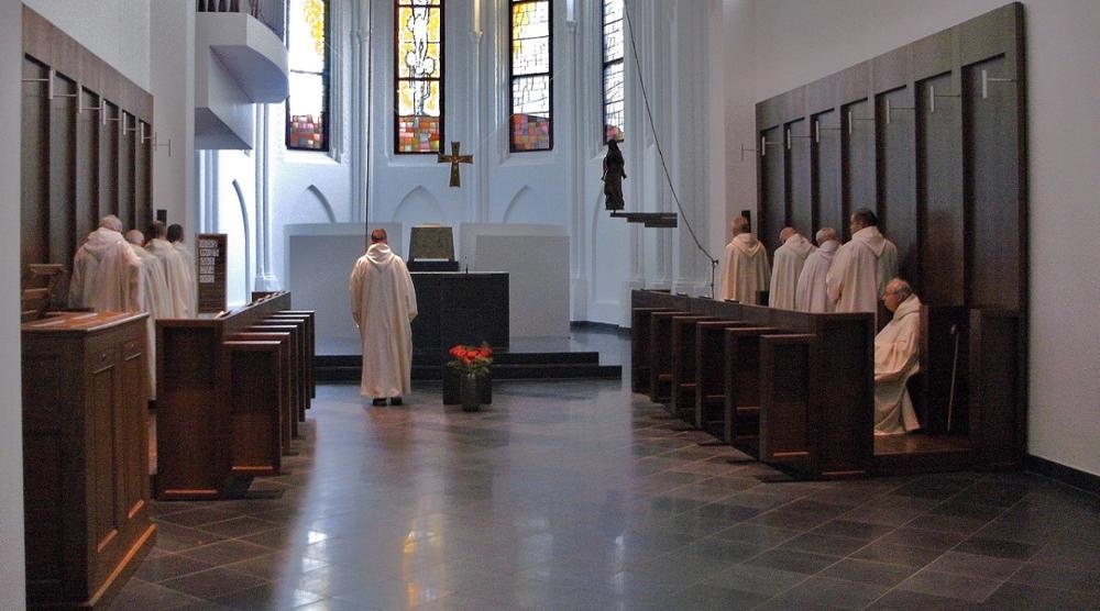 Het ritme van de cisterciënzer monniken in Pey